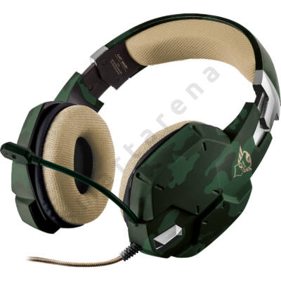 Trust 20865 Gaming GXT 322C Headset - green camo